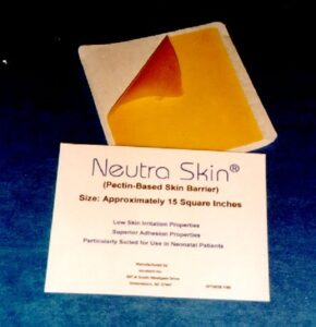 Neutra Skin® Pectin-Based Based Barrier when Skin Needs Protection from Adhesives