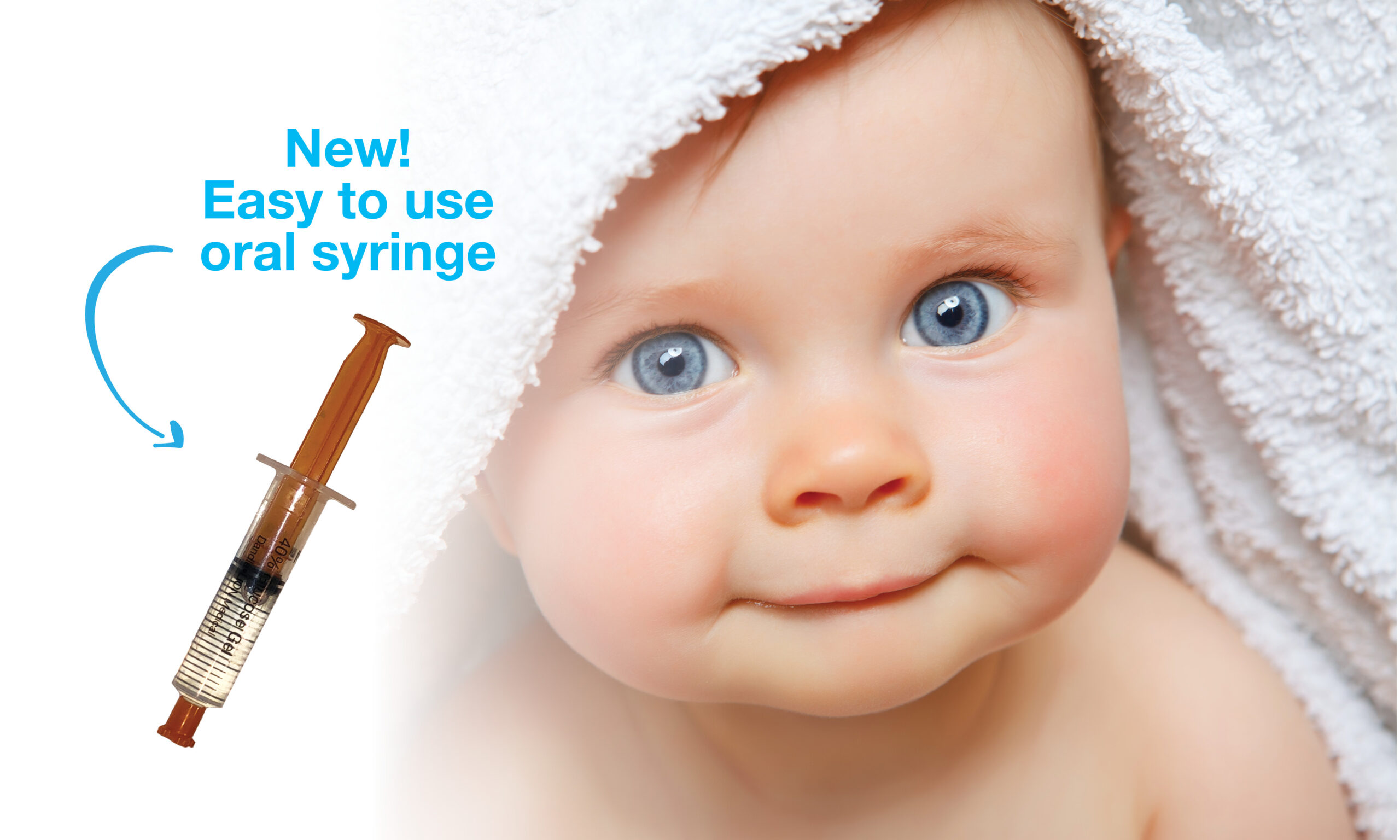 40% glucose specifically designed for newborns, organic ingredients, stays on finger for easy application